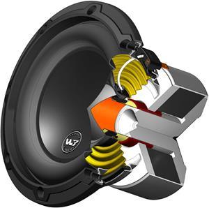 JL Audio W3v3 interior